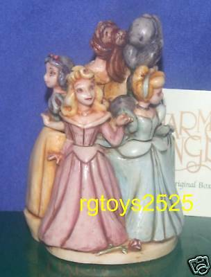Walt Disney Gallery LIMITED EDITION Harmony Kingdom Princesses box New 2003