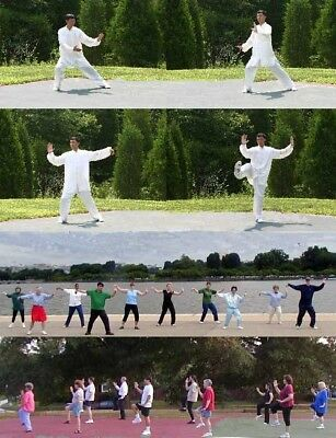 Health Gift : Dr. Chen Tai Chi for beginners DVD Videos. Tai Chi workout Video