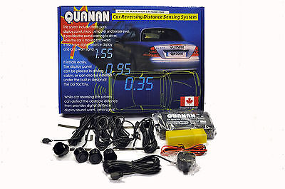 Quanan 1840 Rear Parking Reversing Sensors Buzzer Alarm Kit For Pick Up Truck