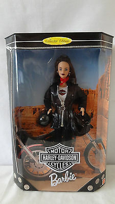 Mattel 1998 Harley Davidson Third in Series 3rd Barbie Collecter Doll MIB #A2867