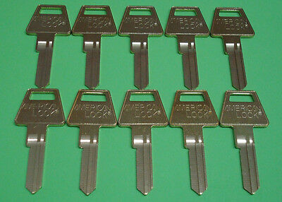 USA American Lock Original 6 PIN KEY BLANK 10 Count lot   (10 UNCUT KEY BLANKS)