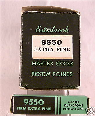 Esterbrook 9550 Extra Fine  nib new old stock