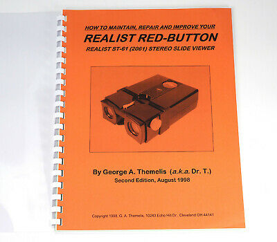 Stereo Realist Red button viewer - Book by DrT