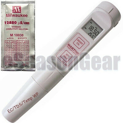 Milwaukee EC60  EC/TDS/°C Tester Conductivity Meter, 60