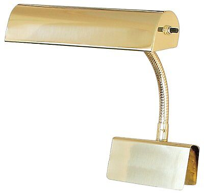 """House Of Troy 10"""" Brass Grand Piano Lamp Light Gp10-61"""
