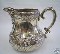 American Sterling Silver Repousse Pitcher - Fabulous!!