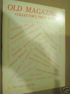 Old Magazines Collectors Price Guide Book