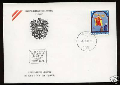 Austria 1983 Youth Stamp FDC