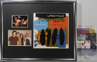 Signed Yellowjackets W/mike Stern Autographed Cd Framed