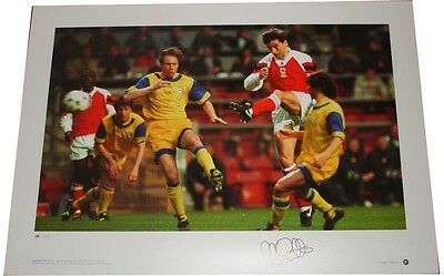 Alan Smith SIGNED AUTOGRAPH Arsenal Football AFTAL UACC RD