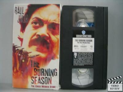 The Burning Season--The Chico Mendes Story (VHS, 1995)