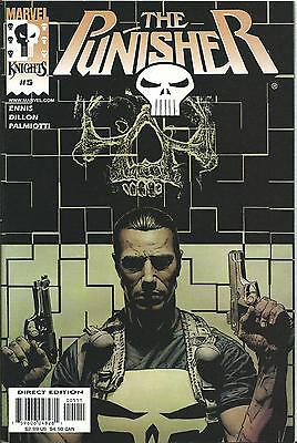 Punisher #5  (Marvel Knights)  2000 Series