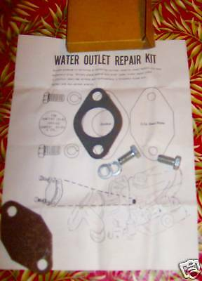 1955 - 1962 Pontiac and Tempest Water Outlet Repair Kit
