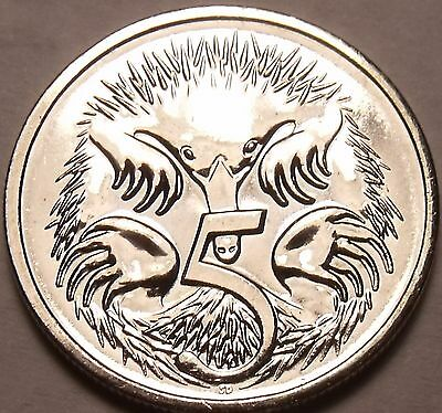 Gem Unc Australia 2006 5 Cents~Spiney Ant Eater~Fantastic~Free Shipping