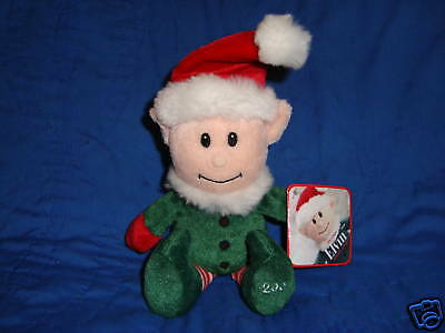 Christmas Elf Elvin Plush Sears Exclusive 2007 W/Tags