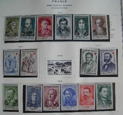 L' Affaire:france Collection Timbres Neufs/Ob 1900-1966