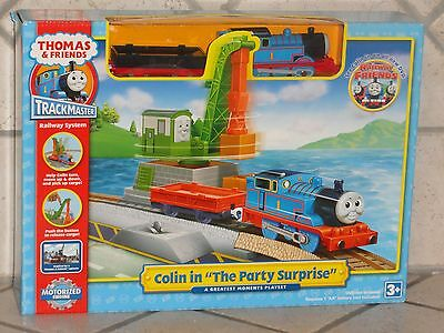 Trackmaster Railway Sys Thomas & Friends Colin In The Party Surprise Motorized