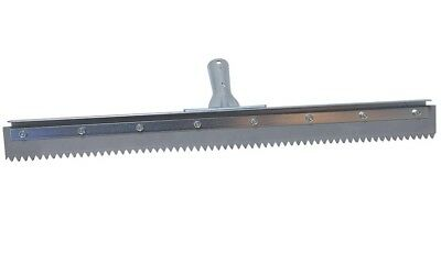 "Brushman 24"" Notched Squeegee for Epoxy"