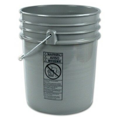 Empty 5 Gallon Plastic Bucket w/ Lid