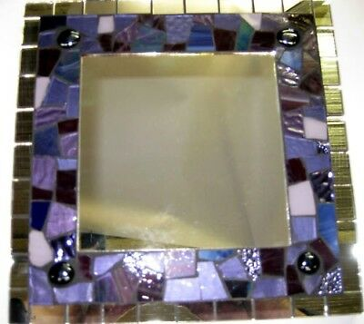 PURPLE  Deluxe Mosaic Mirror Kit Everything u need