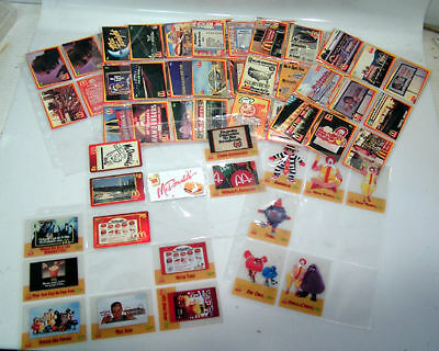 1996 McDONALDS 50 CARD SET 14 Clear Cards 3 Phone Cards (K5660-JUSP)