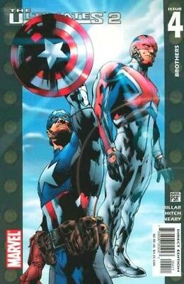 Ultimates 2  #4 (NM)`05 Miller/ Hitch