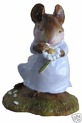 LOVES ME by Wee Forest Folk, WFF# M-233, LAVENDER, Retired 2001