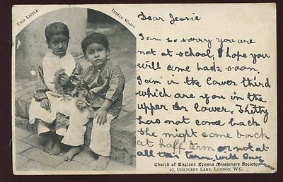 1903 Zenana Mission PPC Indian Waifes