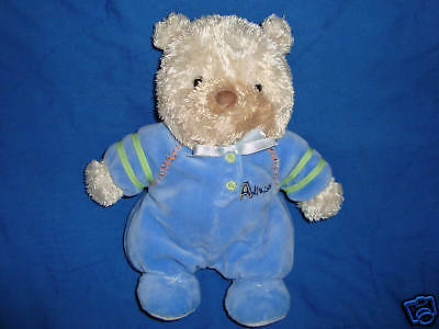Child of Mine Carter's Plush Bear Allstar baby rattle