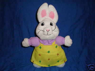 Max & Ruby cartoon character RUBY plush rabbit 11""