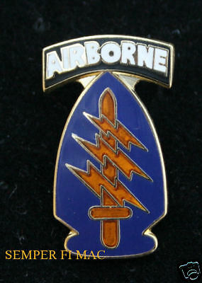 5th GROUP 173RD AIRBORNE SPECIAL FORCES LAPEL HAT PIN UP US ARMY VETERAN OSS