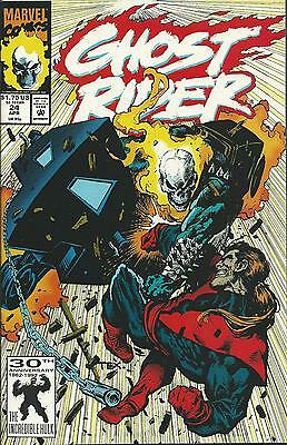 Ghost Rider #24 (2Nd Series)  (Marvel)  1990