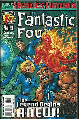 FANTASTIC FOUR #1 (MARVEL) (3rd SERIES)