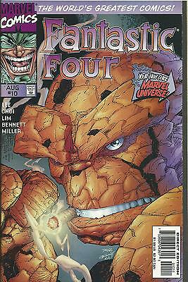 FANTASTIC FOUR #10 (MARVEL) (2nd SERIES)