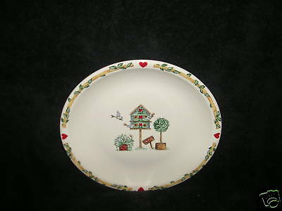 "Thomson Pottery China Birdhouse One 7 3/4"" Salad Plate"