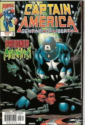Captain America: Sentinel Of Liberty #3 (Marvel)  1998