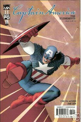 Captain America #11 (4Th Series) (Marvel Knights)  2002