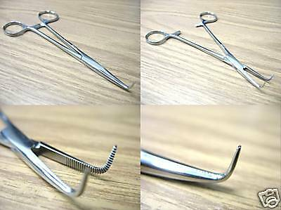 """Mixter Forceps Full Curved 5.5"""" Fine Point Surgical Instruments"""