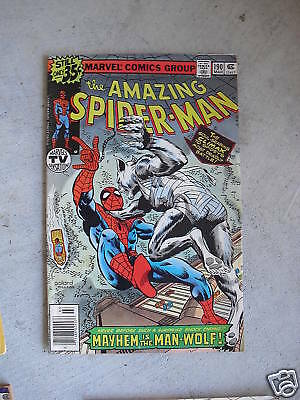 1979 Marvel Comic Book The Amazing Spider Man #190