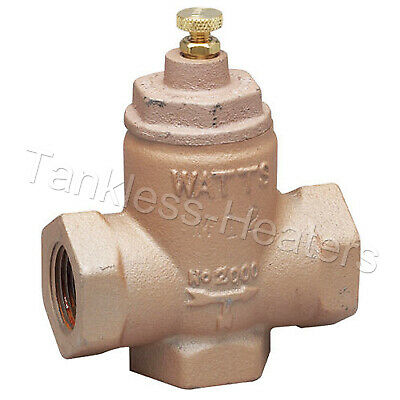 "Watts 2000-M5 3/4"" Flow Check Valve Cast Iron"