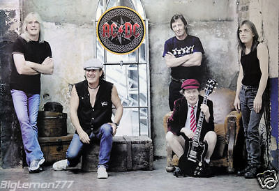 "ACDC AC/DC Group Music Poster # 1 23.4""x34.5"""