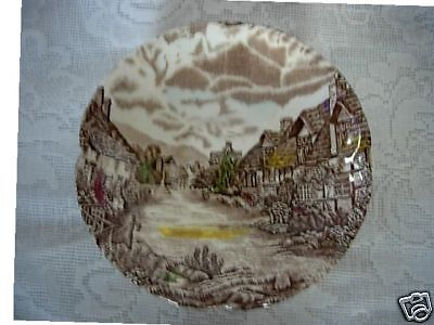 Set of JOHNSON BROTHERS Olde English Countryside Saucers / Plates