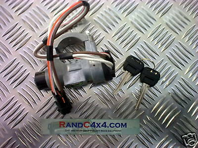 STC981 Land Rover Discovery 200 tdi Ignition steering lock Barrel & 2 Keys