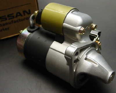New factory OEM 1995 - 1999 Nissan Sentra or Pulsar 1.6L starter with soleniod