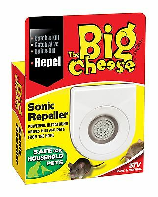 2 Sonic Mouse Rat Mice Repeller Deterrent Repellent Pest Control