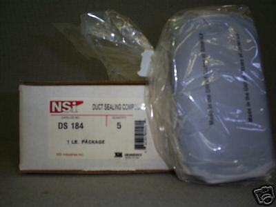 Duct Seal Compound in 1 lb bag