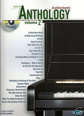 Piano Anthology Various Styles Sheet Music Book & Cd Vol 2 New