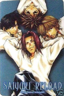 Saiyuki Reload clear card official anime