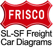 Frisco SLSF Railway Freight Car Diagram Book 1974 on CD