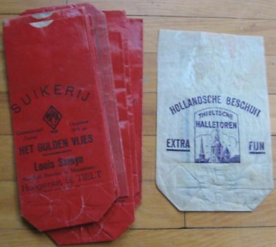 1940s 'Golden Fleece' Chicoree/Coffee Advertising Bags - 11 PIECES